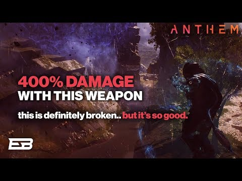 400% WEAPON DAMAGE WITH STORM! THIS STILL WORKS? // Anthem Avenging Herald Gameplay