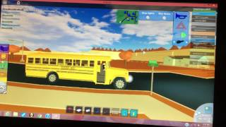 Roblox school bus videos / InfiniTube