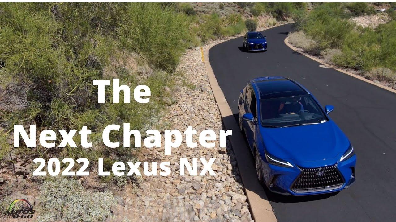 Download 2022 Lexus NX 1st. look in the Arizona desert