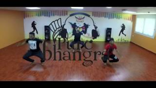 Pure Bhangra Choreography On King & Queen By The Landers
