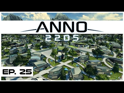 Anno 2205 - Ep. 25 - Virvidian Cove Slum! - Let's Play - Anno 2205 Gameplay