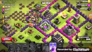 Clash of Clans Challenge #1 Walküren größter Bug!!