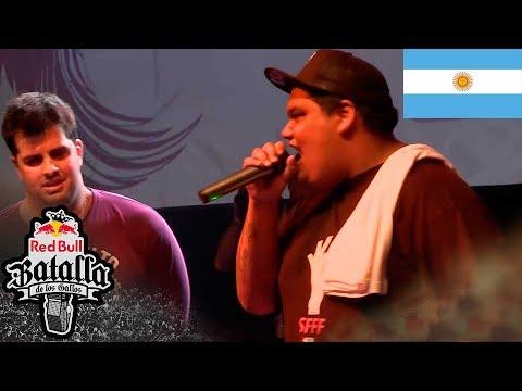 SONY vs PAPO - FINAL: Final Nacional Argentina 2014 - Red Bull Batalla de los Gallos