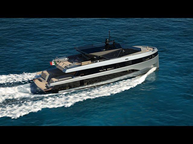 Wally WHY200: The 200GRT Wally Hybrid Yacht