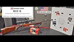 Detailed Review of the Savage B22G Bolt Action Rifle.