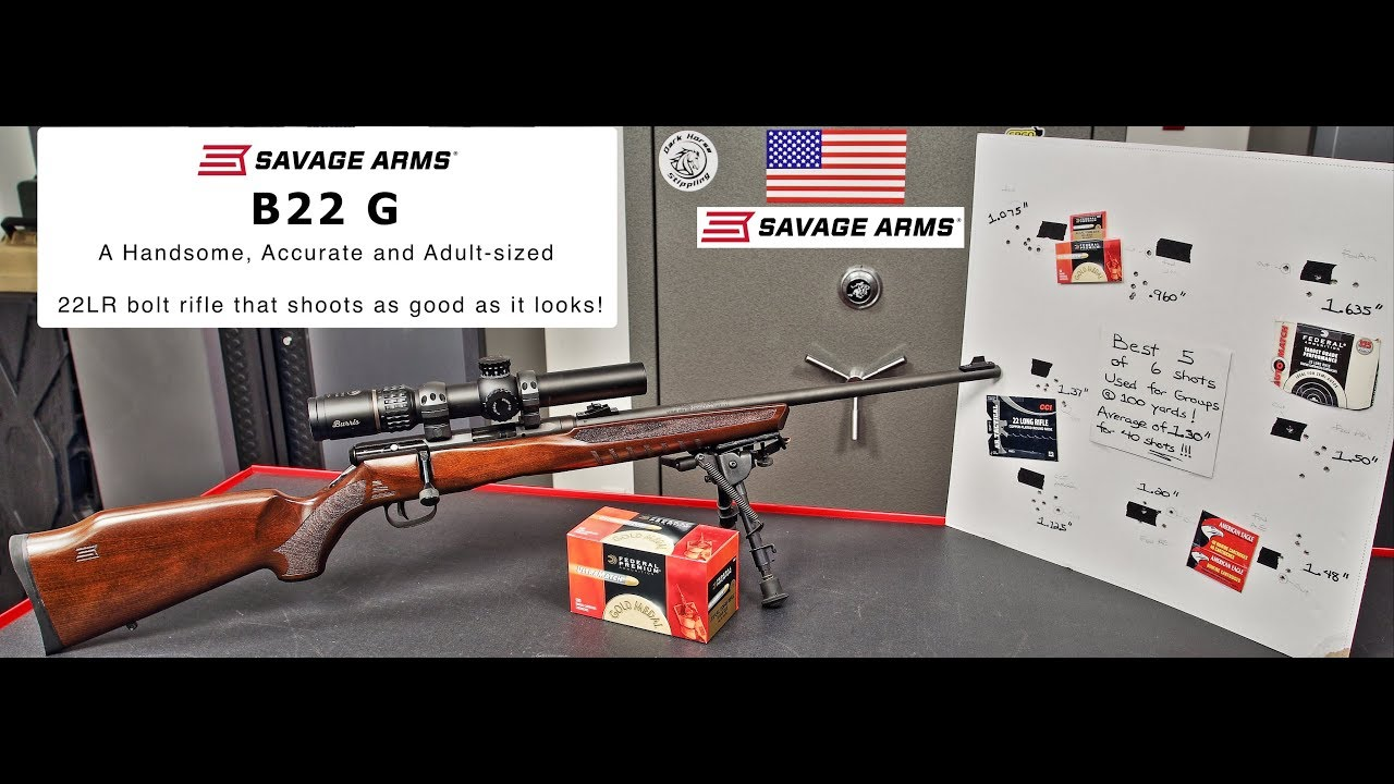 Detailed Review of the Savage B22G Bolt Action Rifle
