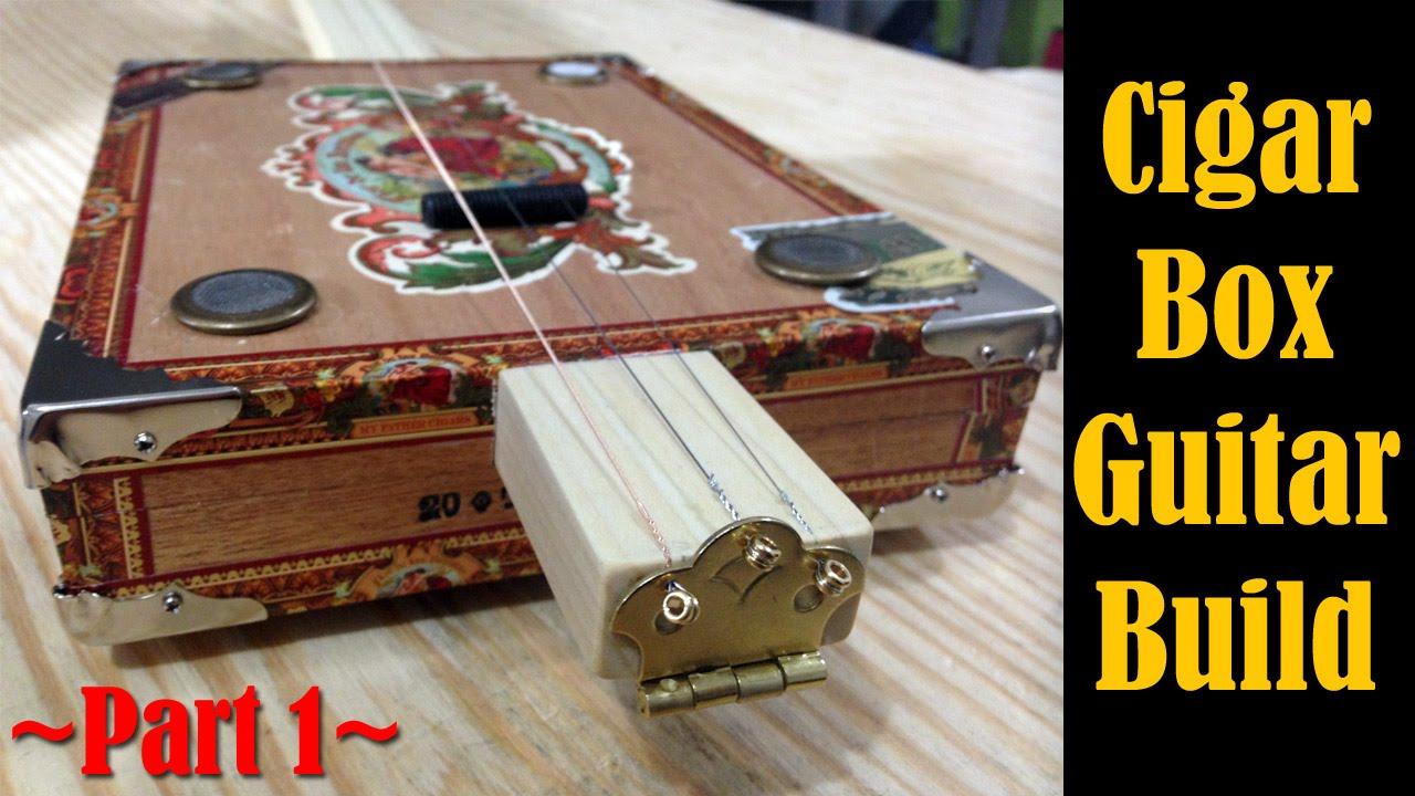 make a cigar box guitar 1 c b gitty kit cmrw 29 youtube. Black Bedroom Furniture Sets. Home Design Ideas