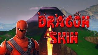 I got a skin in Fortnite before Ninja did.... Hybrid *Dragon* Skin Montage!