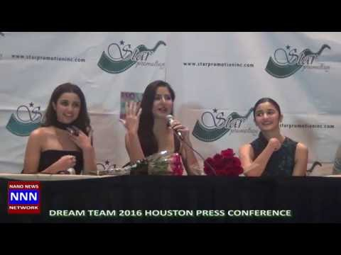 DREAM TEAM 2016 HOUSTON PRESS CONFERENCE VIDEO BY NIK NIKAM