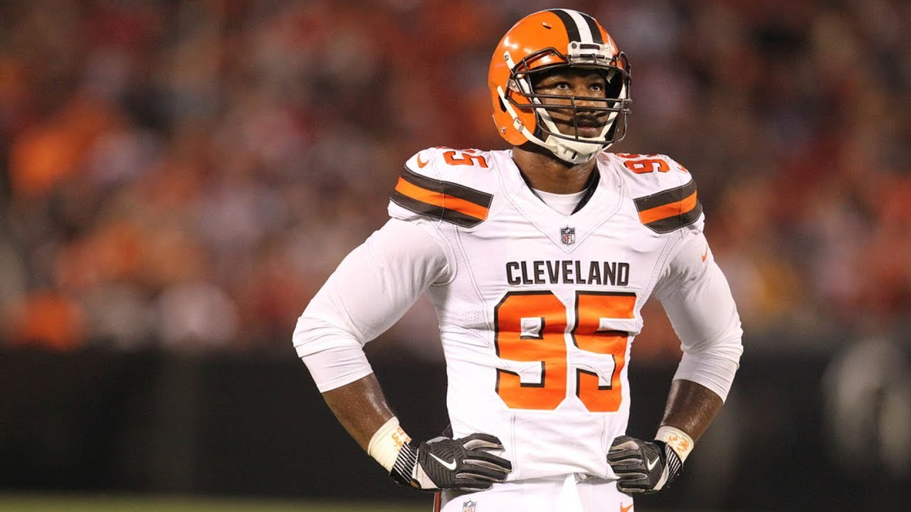 huge discount 75b96 af1f4 The Cleveland Browns selected Myles Garrett #1 overall in the 2017 NFL Draft