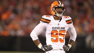 Defensive lineman myles garrett was selected with the first overall pick of 2017 nfl draft.