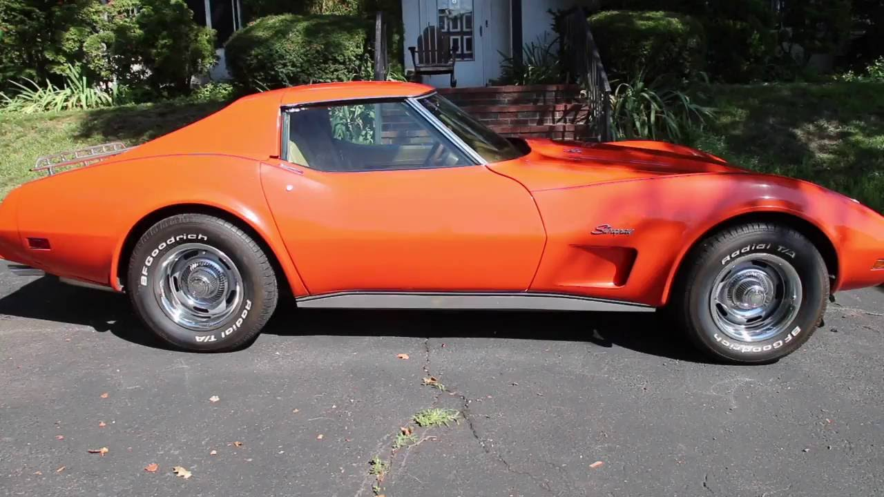 classic cars 1976 corvette stingray youtube. Black Bedroom Furniture Sets. Home Design Ideas