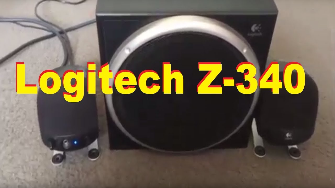 Logitech Z-340 2 1 Speaker System Is Nice