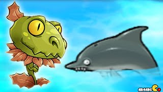 Plants Vs Zombies - New Snap Dragon Vs Dandelion Pool Party Challenge! Pvz