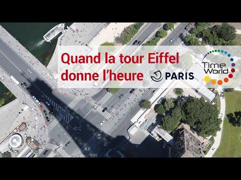 Quand La Tour Eiffel Donne L'heure