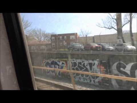 Washington DC Metro | Red Line FULL JOURNEY: Glenmont to Shady Grove