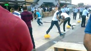 Esenler Otogarı'nda silahlı-sopalı kavga