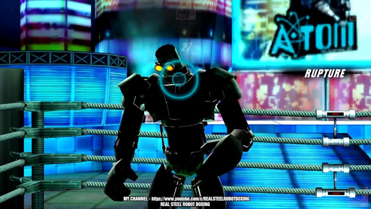 Real Steel Atom Vs Zeus Noisy Boy Ambush Midas Xbox360 Ps3 Youtube