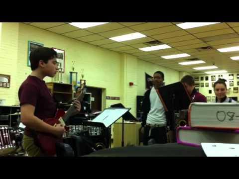 Bayonne High School Jazz Band playing Watermelon Man