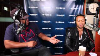 "PT 2. John Legend Performs ""Believe"" and Speaks Love, Strippers and Monogamy on Sway in the Morning"