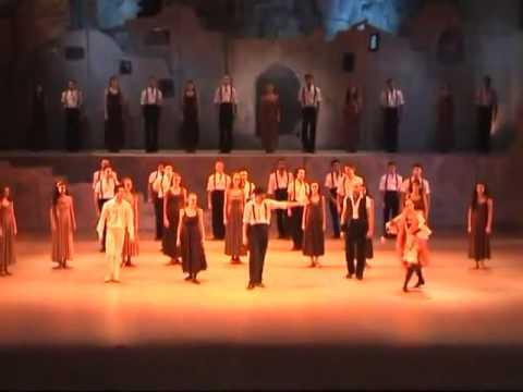 Ballet Zorba Griego Sirtaki  Cairo Opera Ballet Company Mahmoud Atef