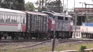 australian trains v line a class locomotive a60 a62 a66 a70 passenger train victoria