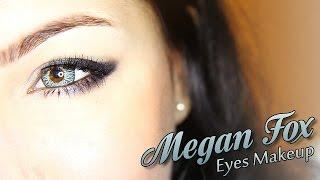 Макияж глаз Меган Фокс/ Megan Fox Eyes Makeup Tutorial