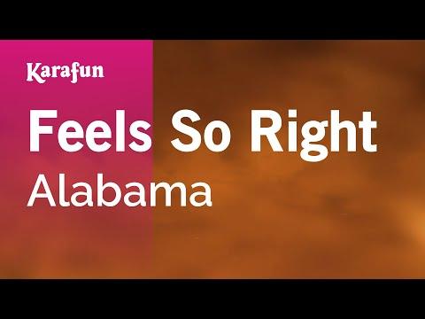 Karaoke Feels So Right - Alabama *