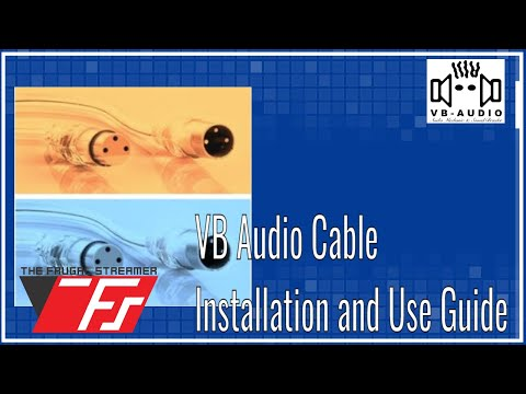 VB_Audio Virtual Audio Cable Installation and Use Guide