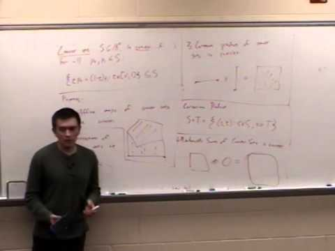 Computational Geometry Lecture 3: Convexity and orientability