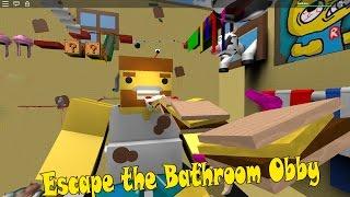Escape the Roblox Obby MLG Version: Bathroom Bathroom escape their.