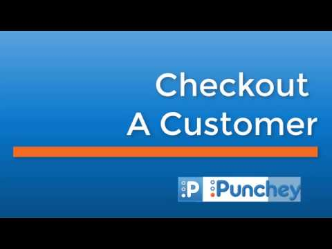 How to Checkout a Customer