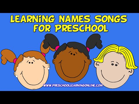 Learning Names Songs for Preschoolers | Learning Name Song | Preschool Circle Songs