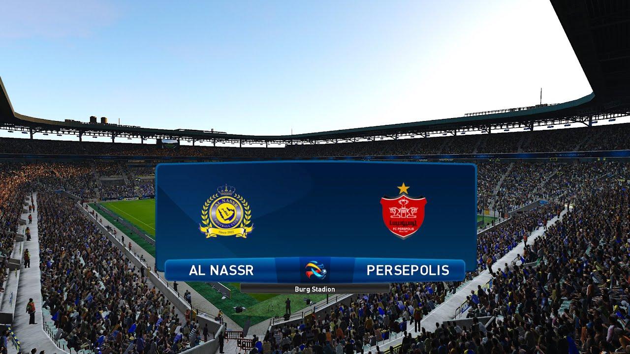 Al Nassr Persepolis Afc Champions League 2020 Efootball Pes 2020 Youtube