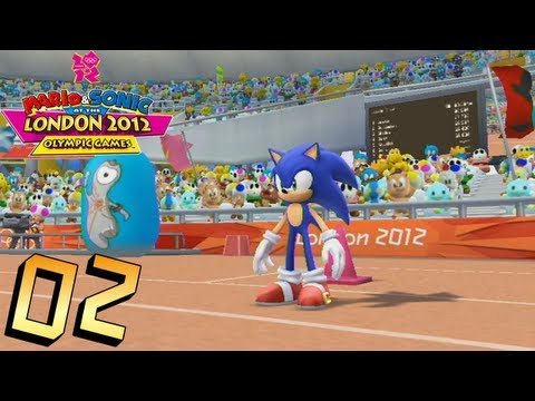 Mario and Sonic at the London 2012 Olympic Games: Part 2 - Athletics (Field)