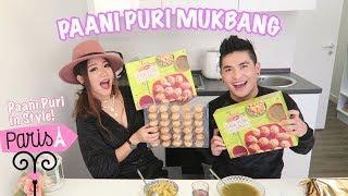 Paani Puri Mukbang ll Yeshidon & Tsenley