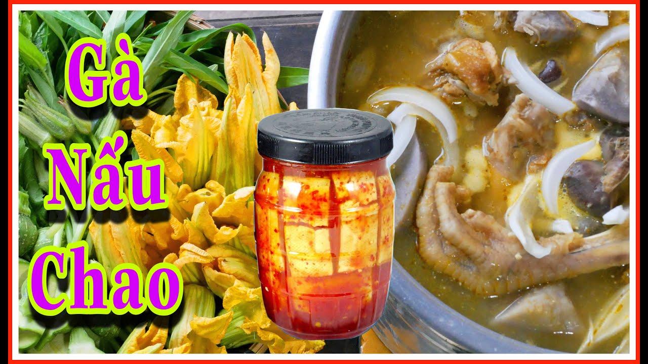 GÀ NẤU CHAO | Độc Đáo Ẩm Thực Vùng Sông Nước Miền Tây | Chicken Fermented Bean Curd in South Vietnam