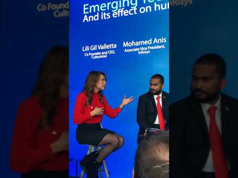 Davos Panel on Technologies for Humanity with Lili Gil Valletta from Culturintel