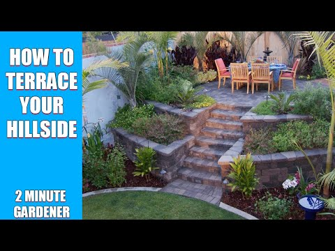 How to terrace your hillside