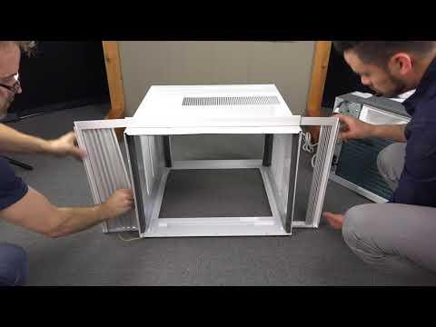 12,000 BTU - 24,000 BTU Window AC Installation Video V.G