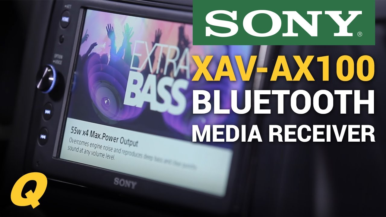 medium resolution of sony xav ax100 bluetooth media receiver install for jeep wrangler jk