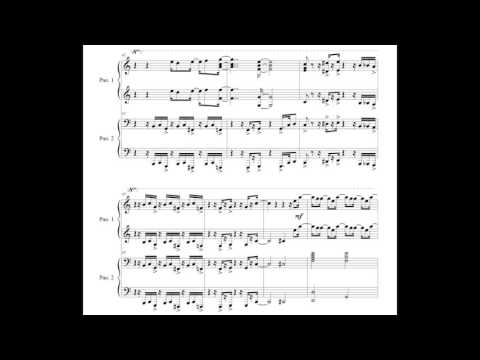 Sunday Morning for 1 piano 4 hands (sheet music)
