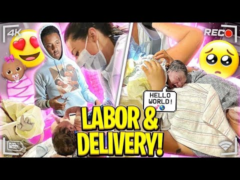 OFFICIAL BIRTH VLOG 2021 LABOR AND DELIVERY 😳   *Daddy Passed out*