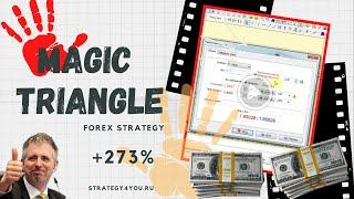 Стратегия форекс «Волшебный треугольник»: +273% за 12 мес по GBP/AUD (H1)