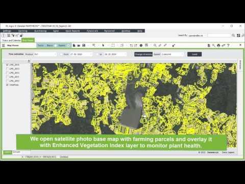 PANTHEON Farming - Farming Software - Vegetation index Video