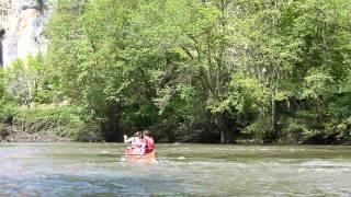 Canoë-kayak sur le Célé avec Kalapca à Liauzu