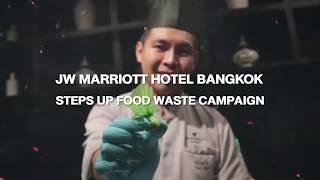JW Marriott Hotel Bangkok Steps Up on Food Waste Campaign | Ch3 Thailand News