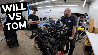 homepage tile video photo for OG 135I ENGINE TEAR DOWN, BATTLE OF TOM AND WILL!!