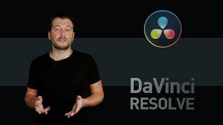 DaVinci Resolve уроки: окно Project manager, экспорт файла проекта в drp, настройки альфа-канала