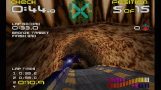 Wipeout 64 Challenge Mode WR 1:04:25
